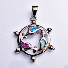 Synthetisch hergestellte Echtschmuck mit Opal Halsketten und Anhänger