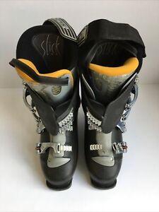 Salamon Performance Ski Boots Black UK Size 9 w/ Freeride Carry Bag CH