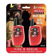 Cobra Walkie Talkie héroe Fire & Rescue Walkie Talkie-Cobra