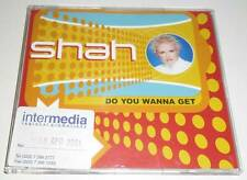 SHAH - DO YOU WANNA GET - 2001 UK 1 TRACK PROMO CD SINGLE