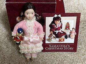 American Girl Samantha Mini Christmas Clara Doll Retired