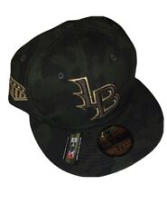 Louisville Bats New Era Armed Forces Day Camo 59FIFTY Fitted Hat NWT 7 3/4