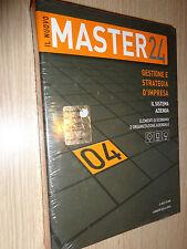 IL NUOVO MASTER 24 CD ROM+BOOK N°4 GESTIONE E STRATEGIA D'IMPRESA IL SOLE 24 ORE
