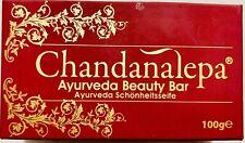 Ceylon Chandanalepa Ayurveda/Herbal Body/Skin care Beauty soap 100% Natural-100g