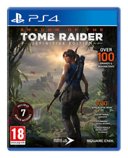 Shadow of the Tomb Raider - Definitive Edition Ps4 (Sony PlayStation 4, 2018)