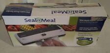 "Seal-A-Meal Foodsaver Vacuum Sealer System  New; Uses 1qt, 1 gal, 8"", 11"" Bags"