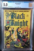 Black Knight 1 CGC 5.0 1st appearance Black Knight   1953 - 1955   Eternals