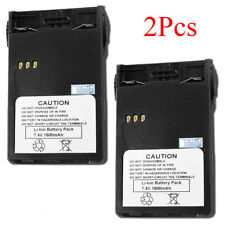 2 x Li-ion Battery For PUXING PX-328 PX-728 PX-777plus PX-888K 7.4V 1600mAh