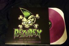 REZUREX 15 Years of Rezurecting psychobilly rockabilly horror punk Purple LP