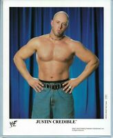 WWE JUSTIN CREDIBLE P-701 OFFICIAL LICENSED AUTHENTIC ORIGINAL 8X10 PROMO PHOTO