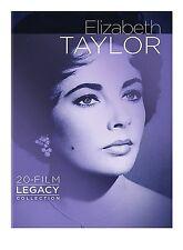 PRE ORDER: ELIZABETH TAYLOR - 20 FILM LEGACY COLLECTION  -  DVD - REGION 1