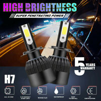 H7 LED Headlight Bulbs Conversion Kit CREE 2800W 280000LM 6000K Hi/Lo beam Lamps