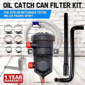 200 Oil Catch Can Filter Kit for 2015-on Mitsubishi Triton MQ 2.4L Pajero Sport