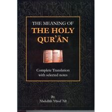 The Meaning of the Holy Qur'an, Abdullah Yusuf Ali English only, Selected Notes