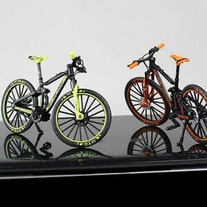 Neu Mini 1:10 Fahrradmodell Metalldruckguss Finger Mountainbike f 02
