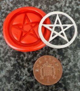 Pentagram silicone mould / mould / craft / cake making  FREE UK P&P