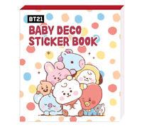 NEW) BT21 Baby Deco Sticker Book Mini Book Bangtan Boys BTS Goods