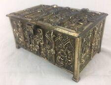 Antique Medieval,  Gothic, Religious, Reliquary - Casket, Trinket, Jewellery Box