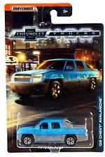 2018 Matchbox Chevrolet Trucks 100 Years '02 Chevy Avalanche