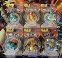 6x TOMY Pokemon Japanese Figure Lot - Evolutions Charizard Blastoise Venusaur