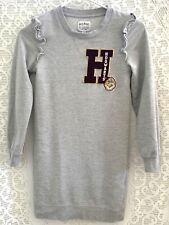 HOGWARTS University Tunic Sweatshirt Dress Harry Potter H Patch Girls M Gift
