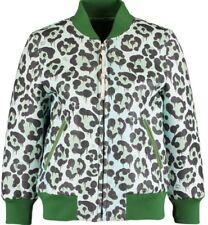 COACH Green Wild Beast Leather Baseball Jacket Size XSmall RRP £1600