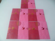 1 packe 10 pcs. Ang Pow Red Packet @ 2020 Standard Chartered Zodiac Rat (#216)