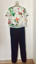 Ted Baker Floral Birds Print Jumpsiut Size 12 Years Girls Party