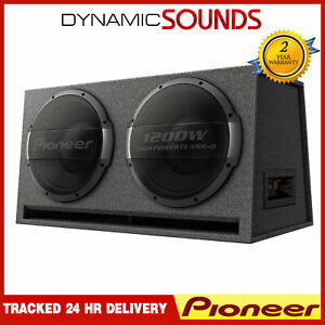Pioneer TS-WX1220AH 30CM X 2 Bass Reflex Subwoofer With Built In Amplifier 3000W