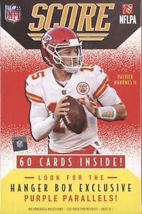 *1 HANGER BOX* 2021 PANINI SCORE FOOTBALL FACTORY SEALED 60 CARD HANGER BOX NFL