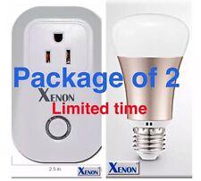WiFi Smart LED Light Bulb& Smart Socket Controlled With APP Or Amazon Alexa