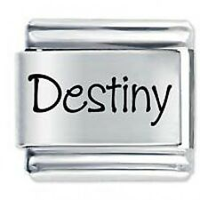 DESTINY Name - Daisy Charm by JSC Fits Classic Size Italian Charms Bracelet