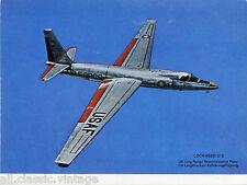 Postcard 265 - Plane/Aviation Lockheed U2