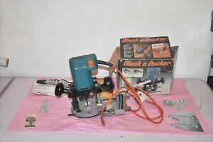 Black & Decker DN66 240v Plunge Router & Accessories.
