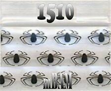 """100 PACK BLACK SPIDERS 1510 Apple Ziplock Baggies 1.5X1.0"""""""