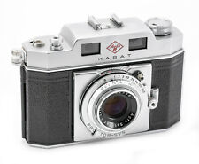 (194) AGFA Karat IV w/50/2.8 Solinar lens in near Mint condition, functional