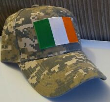 8620a54c033 Irish Flag Hat Camouflage Cap Ireland Flag Baseball Cap Camo Hat