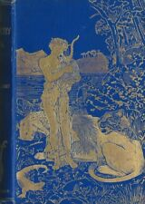 RARE EO 1891 ANDREW LANG HENRY JUSTICE FORD LANCELOT SPEED  THE BLUE POETRY BOOK