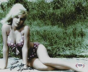 LEE MEREDITH SIGNED AUTOGRAPHED PHOTO 8x10 PSA/DNA COA ACTRESS PRODUCERS