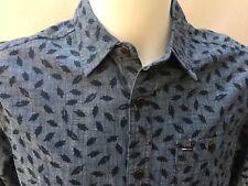 Tommy Hilfiger Men's Atwood shirt M Indigo