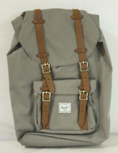 Herschel Supply Co. Unisex Little America Backpack KB8 Gray Mid-Volume NWT
