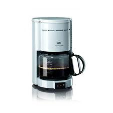 BRAUN KF 47/1 Kaffeeautomat Aromaster Kaffeemaschine Filter Classic weiß