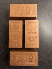 More details for ten pound  999 fine copper bullion bar