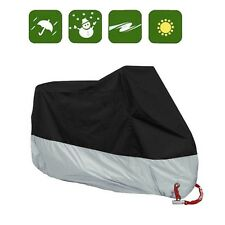 XXXL Large Waterproof Motorcycle Cover Universal Fit Cruisers Touring Bikes