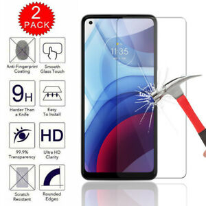 For Motorola Moto G Stylus G Play G Power 2021 Tempered Glass Screen Protector