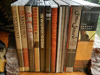 """Rare Samurai Trilogy  the Criterion """" Akira Kurosama's"""" """"Jigoku Mustumi Fujita"""""""