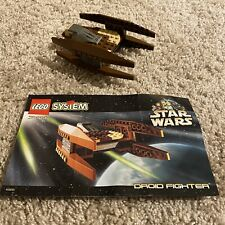 Lego Star Wars Set 7111 Droid Fighter Complete  NO BOX
