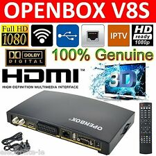 Genuine Openbox V8S Digital PVR TV Satellite Box+ Free Shipping via Fastway