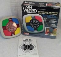 Vtg VTech Mini Wizard Electronic Memory Game Handheld Simon Says NOS 80s New