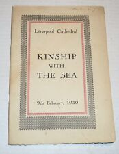TRUE 1ST ED. of LIVERPOOL by JOHN MASEFIELD (Feb. 1930) KINSHIP WITH THE SEA